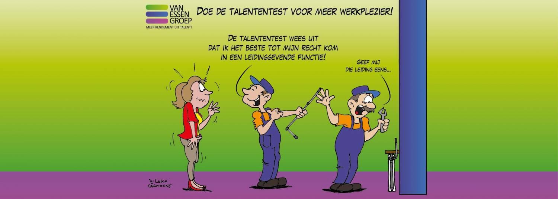Talententest @ Van Essen Groep