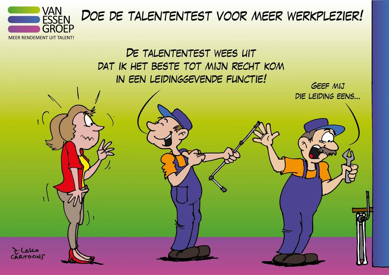 Talententest Van Essen Groep